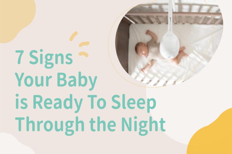 baby is ready to sleep through the night