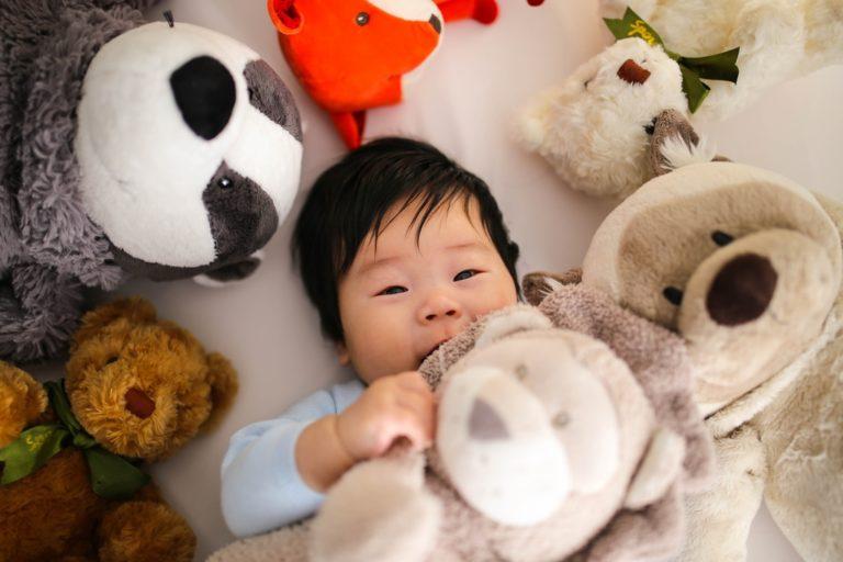 safe lovey for baby sleep